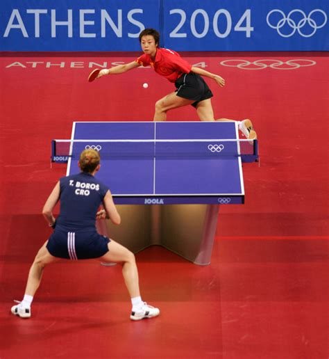 Olympic Table Tennis by Yining Zhang In Olympics Day 6 Table Tennis Zimbio
