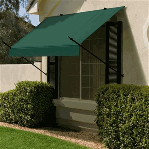 Awning Covers by 8 Foot Width Designer Window Awning Replacement Cover Only