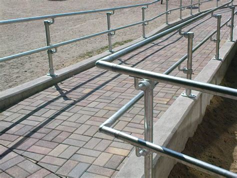 fitting a banister handrail handrail for residential and commercial buildings
