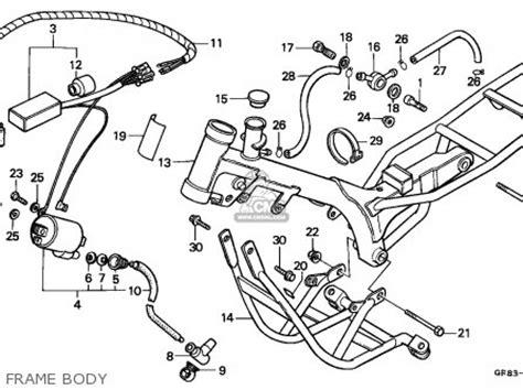 honda qr50 1985 australia parts list partsmanual partsfiche