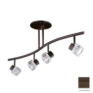 track pendant lighting kits shop kendal lighting 4 light 32 5 in rubbed bronze