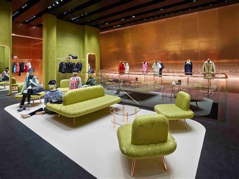 Herzog Shop by Herzog De Meuron Clads Miu Miu Store With Angled Canopy