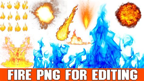 tutorial zoetropic fire png effects for editing picsart and photoshop hd real