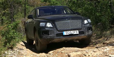 bentley bentayga suv shows its road prowess