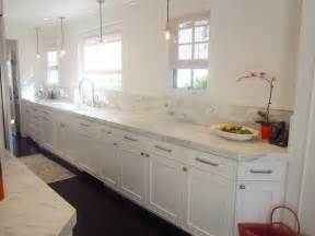 cococozy exclusive a chic galley kitchen cococozy modern kitchen galley white reclaimed wood kitchen cabinets