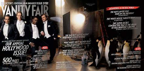 vanity fair issue sees benedict cumberbatch and
