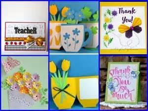 Simple Handmade Teachers Day Cards - simple handmade s day cards 25 diy ideas for