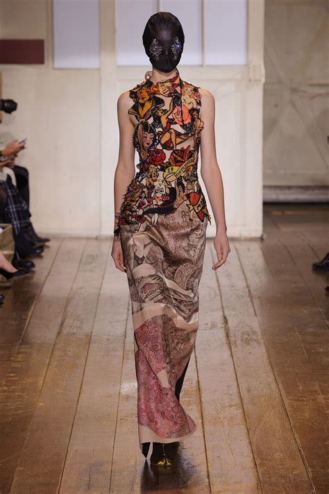 Margiela Brings Recycling To 2007 Haute Couture by Tout En Vogue Haute Couture Printemps Ete 2014 Maison
