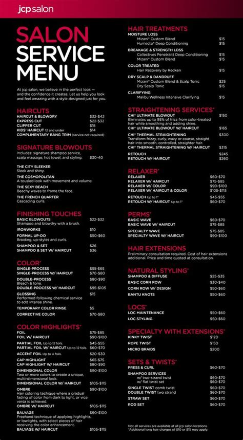 hair salons jc penny price list quelques liens utiles