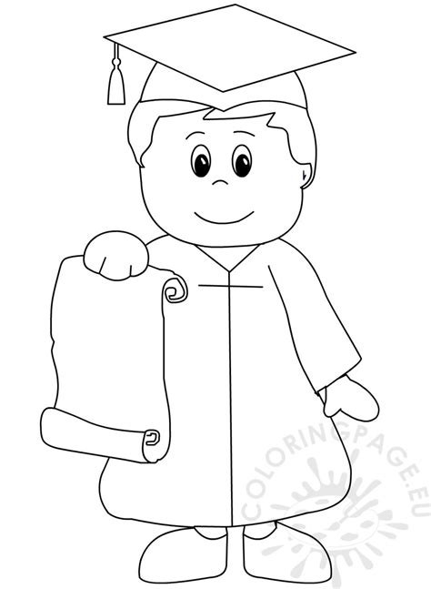 coloring pages for preschool graduation kindergarten graduation coloring page for preschool