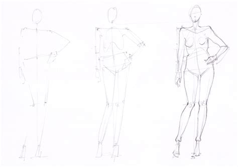 Drawing Human by Learn How To Draw Fashion Sketches With Ioana Avram Part 9
