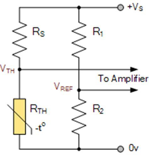 ntc thermistor bridge circuit thermistors and ntc thermistors