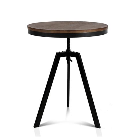 Black And Brown Dining Table Industrial Dining Table Brown And Black Direct Bargain