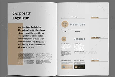 10 Professional Brand Manual Templates To Promote Brand Image Psd And Ai Free Download Brand Manual Template Free