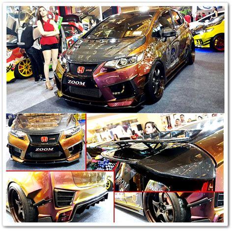 Bosch Kas Rem Depan U Mobil Honda Jazz Citycivic Genioestillo inilah jawara modifikasi mobil honda jazz tuning contest terbaru 2015