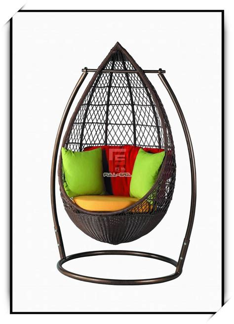 Egg Rattan Swing Wicker Chair Fs 9520 China Rattan