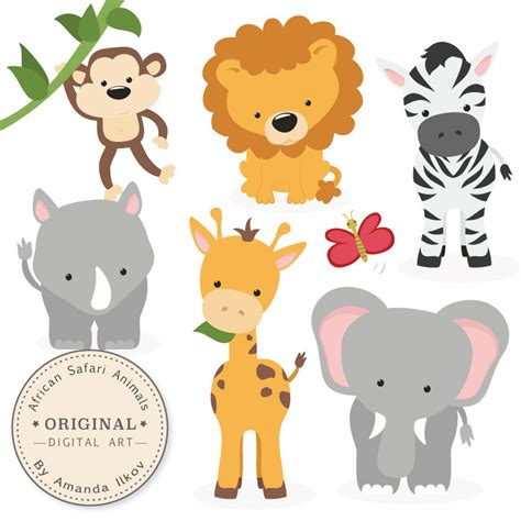 african safari animals african animals clip art www imgkid com the image kid