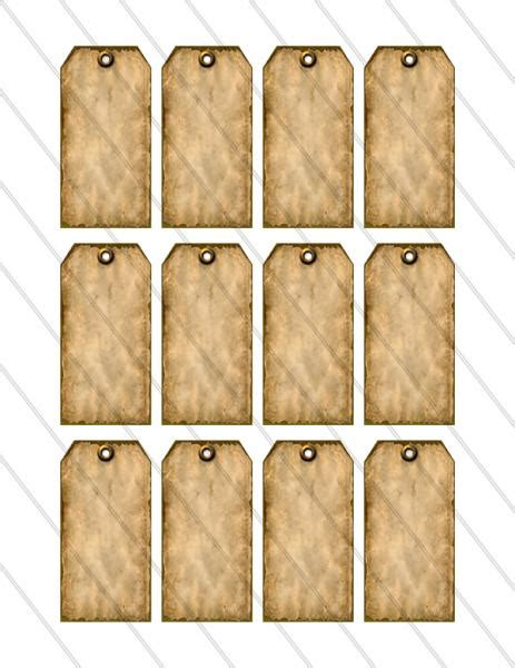 printable brown luggage tags best photos of rustic printable price tag template free
