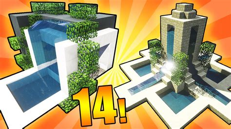 14 designs ideas minecraft