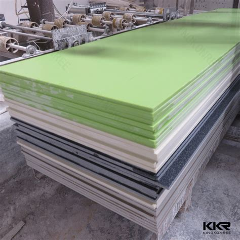 Acrylic Solid Surface kingkonree artificial faux marble solid surface sheets for kitchen buy artificial marble solid