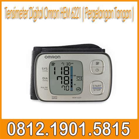Tensimeter Digital Di Toko Bandung tensimeter digital omron hem 6221 pergelangan tangan