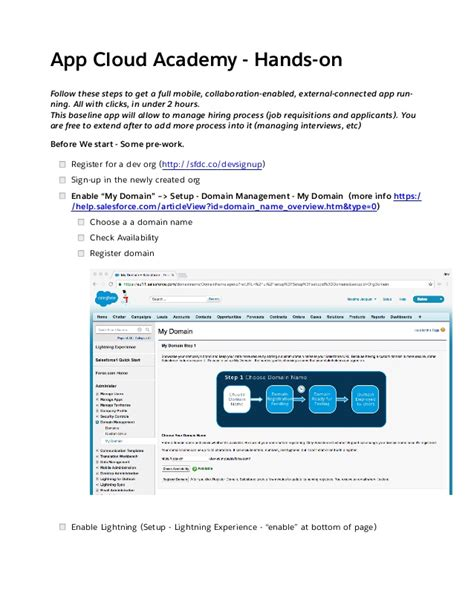 salesforce sandbox template salesforce sandbox template free template design