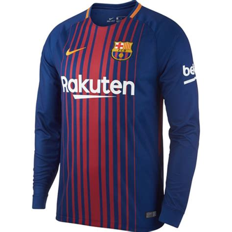 Jersey Barca Home Ls barcelona 2017 18 ls home soccer jersey barcelona
