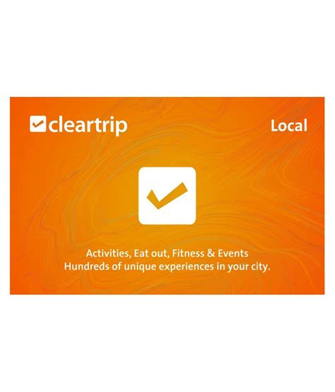 E Gift Card Online - cleartrip local e gift card buy online on snapdeal