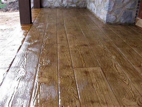 wood pattern sted concrete st con products gt sted concrete