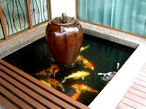Small Backyard Pond Small Garden Koi Pond April 2009 Youtube