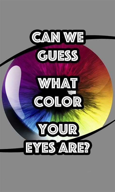 eye color quiz can we guess what color you quizzes