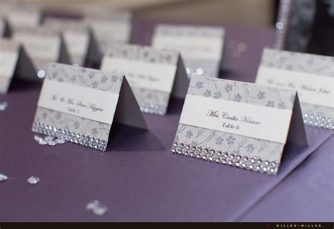 how to make place cards wedding reception place cards lilbibby