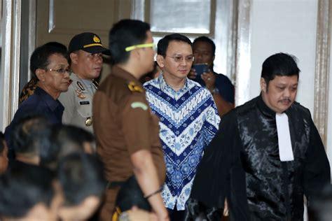 ahok jail former jakarta governor ahok an islamist target family