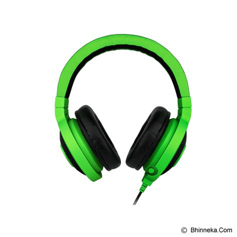 jual gaming headset razer kraken pro green gaming gear
