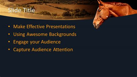 powerpoint templates free download horse free animal equine powerpoint template free powerpoint