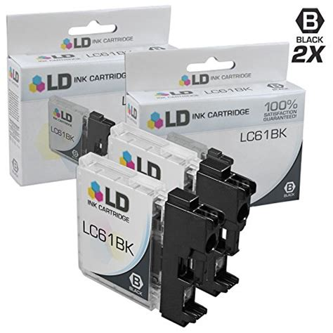 brother dcp j125 yellow ink cartridge 325 pages ld 169 compatible replacement for brother lc61 10 pk ink