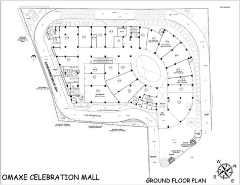 floor plan of shopping mall omaxe celebration mall commercial property in gurgaon
