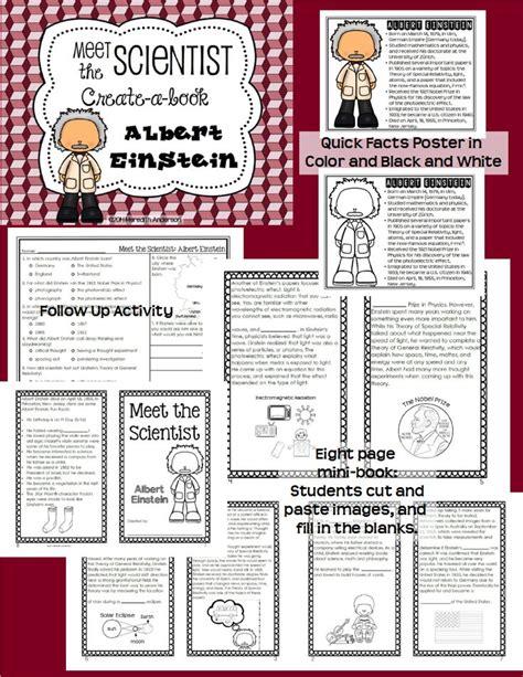 albert einstein biography project meet the scientist albert einstein create a book