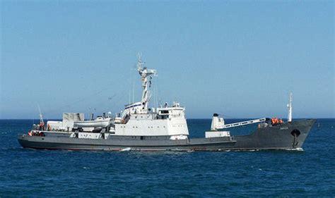 russian spy boat russian spy ship liman sinks after crash in black sea