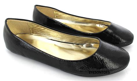 flat pumps shoes flat ballet ballerina pumps plain womans work