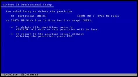 tutorial instalasi xp tutorial instalasi windows xp tanpa kehilangan data selain
