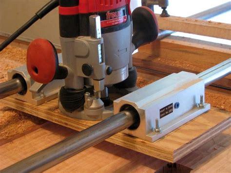 router jig  flattten large slabs finewoodworking