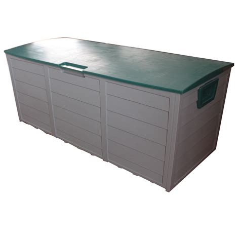 storage containers outdoor new garden outdoor plastic storage chest shed box