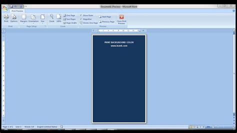 word background color print background color in microsoft word