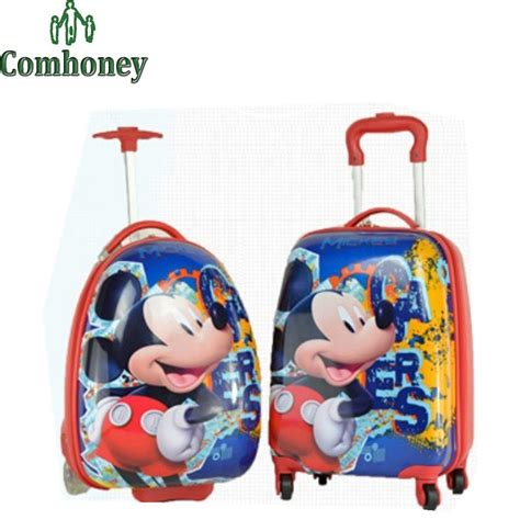 Travel Bag Mini Koper Mickey Mouse 1 mickey mouse suitcase all discount luggage