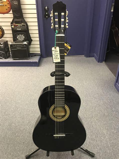 Guitar Black beavercreek classical guitar black riverside
