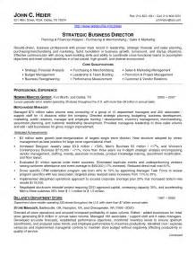 Executive Resume Cover Letter Sle by Cover Letter For Resume After School Director Cover