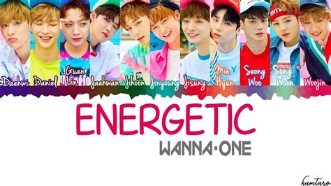 download mp3 wanna one energetic wanna one 워너원 energetic 에너제틱 lyrics color coded han