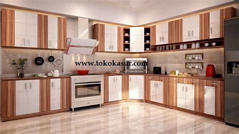 Meja Dapur 3 Pintu Laci Bogenvile Series 2753 Free Ongkir Jabodetabek kitchen set lemari dapur