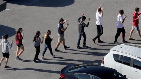 students recount horror of school shooting sun sentinel
